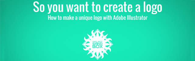 So you want to create a logo with Adobe Illustrator header image