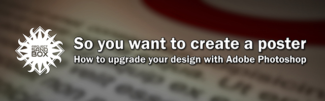 So you want to create a poster with Adobe Photoshop header image