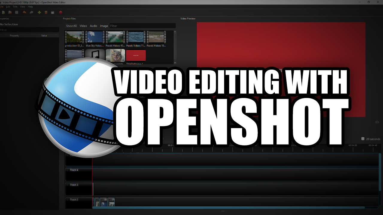 Video Editing with OpenShot thumbnail image