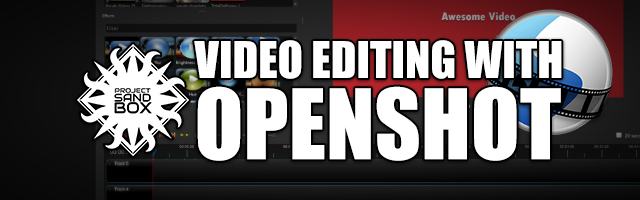 Video editing with OpenShot header image