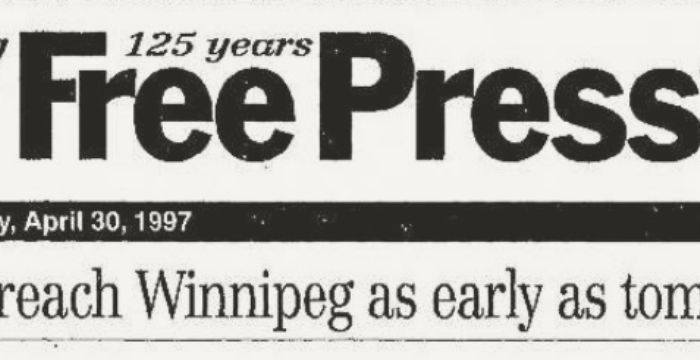 Winnipeg Newspaper Archives