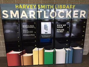 Harvey Smith (West End) Library Smartlocker