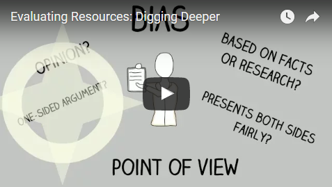 Evaluating Resources: Digging Deeper