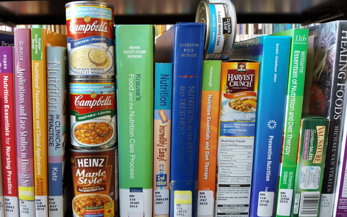 Overdue books? Bring in a food donation - Food for Fines