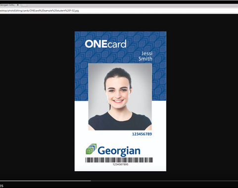 Georgian Onecard