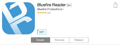 Bluefire reader app.