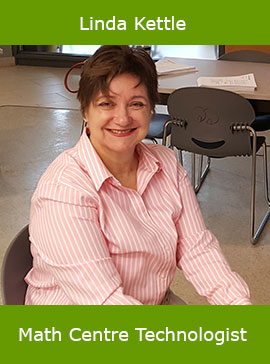 Linda Kettle, Math Centre Technologist