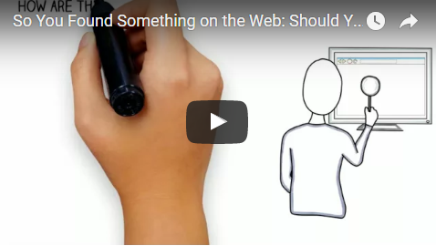 Getting to the Good Stuff: Accessing better web content.