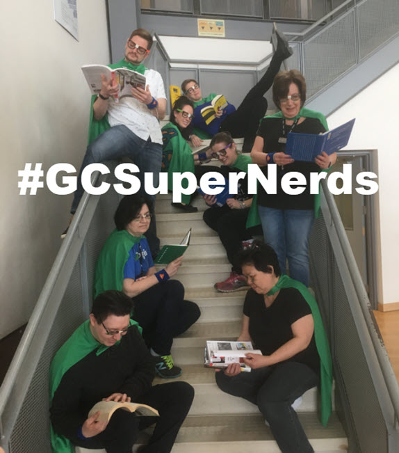 hashtag GC Super Nerds
