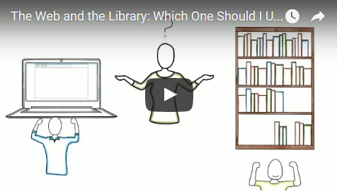 The Web and the Library: Which One Should I Use?