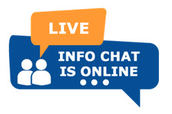live info chat is online