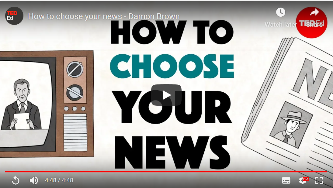 How to Choose Your News TedEd Video
