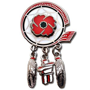 Legion Lapel Pin Aboriginal Veterans