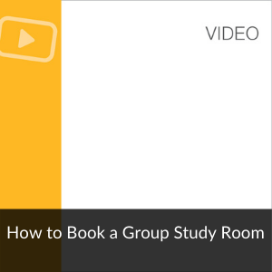 Video: How to Book a Group Study Room