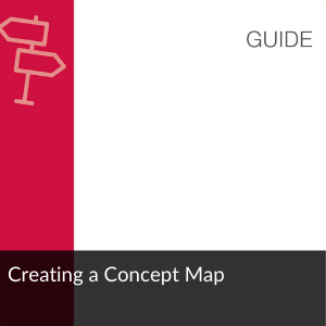 Guide: Creating a concept map