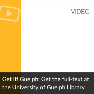 Video: Get it! Guelph: Get the full-text at the Un