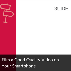 Link to Guide: film a video on your smartphone