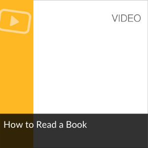Video: How to Read a Book