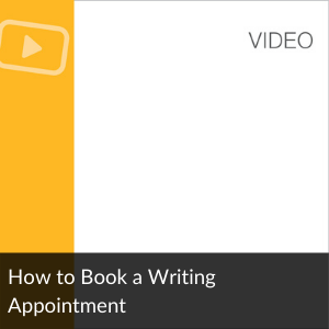 Video: How to Book a Writing Appointment