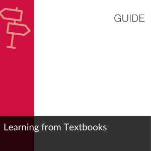 Guide: learning from textbooks
