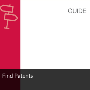 Guide: find patents