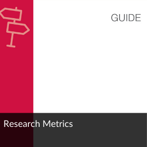 Link to guide: Research Metrics