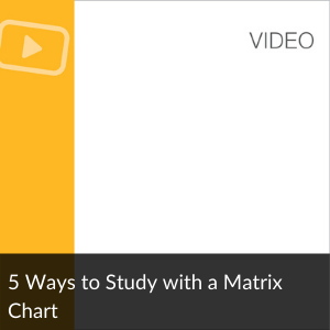 Video: 5 Ways to Study with a Matrix Chart