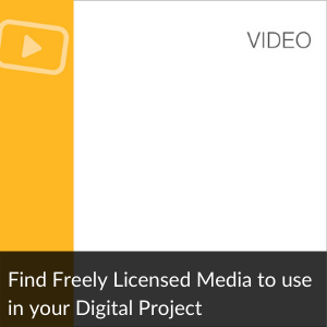 Find Freely Licensed Media to use in Your Projet
