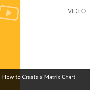 Video: How to Create a Matrix Chart