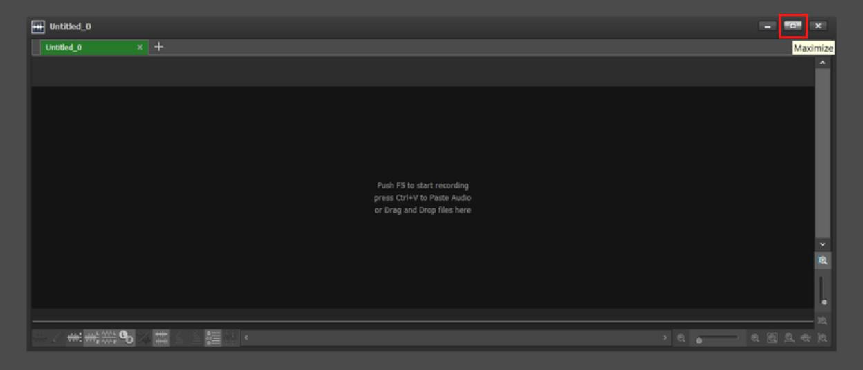 New file window open