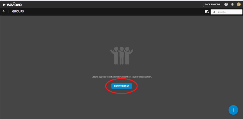 Select create group