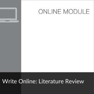 Module: Write Online: Literature Review