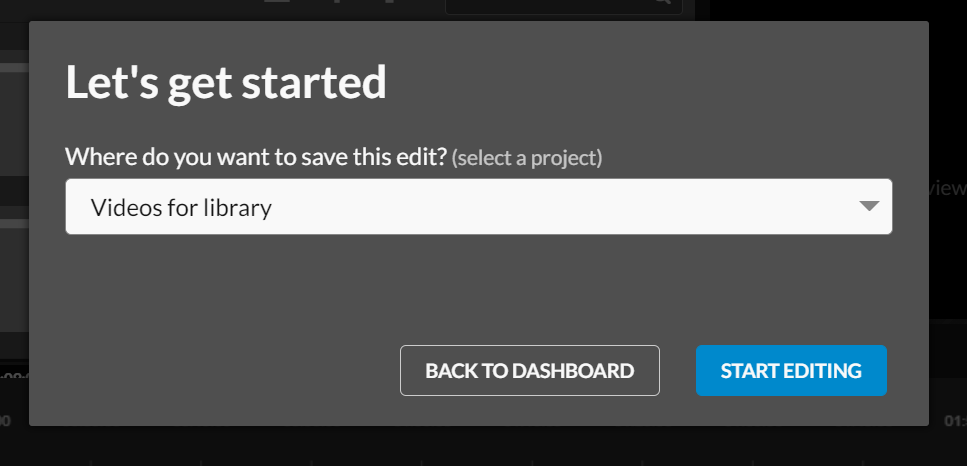 Select where you would like to save your new edit