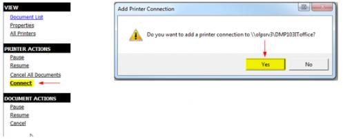 Printer Install Step 3