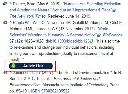 Libkey Nomad dans Wikipedia