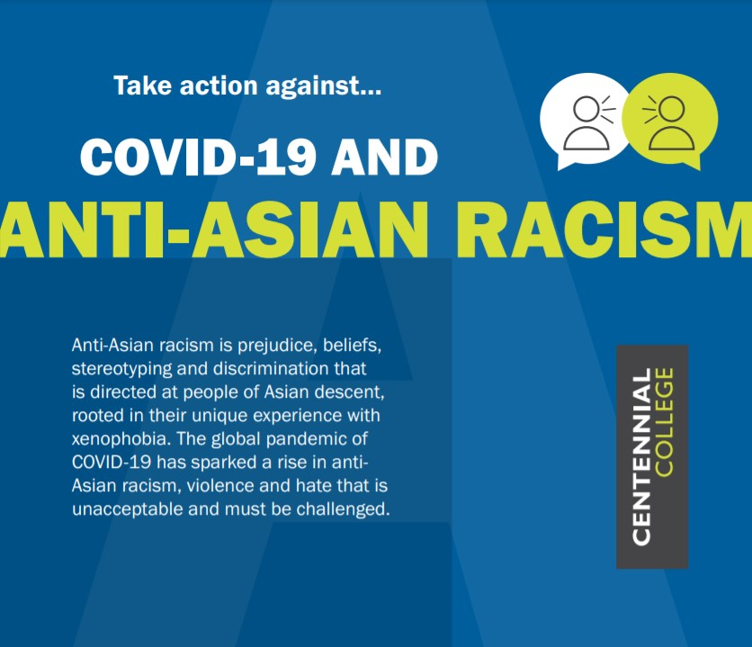 Anti-Asian Racism Social Action Card, side 1