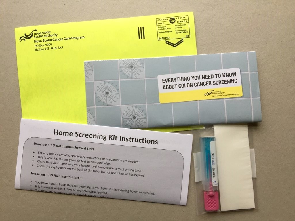 NSHA colon cancer screening kit