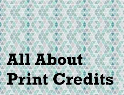 print credits