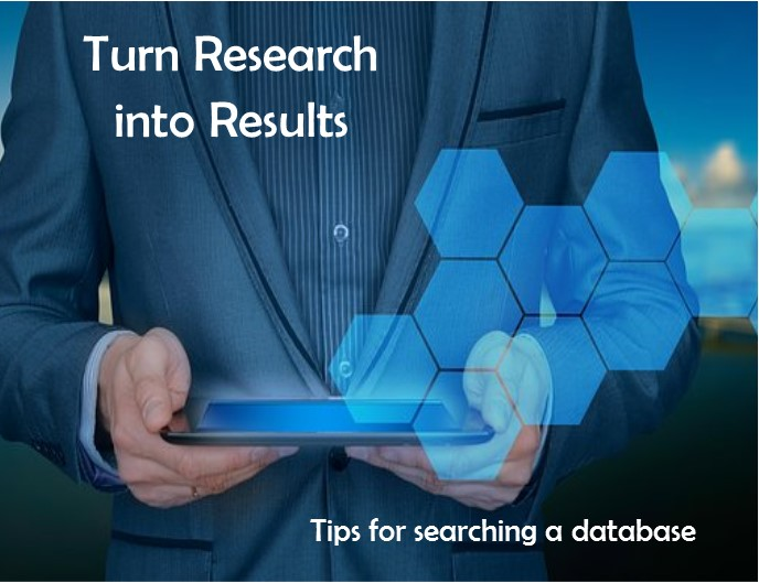 how to use a database