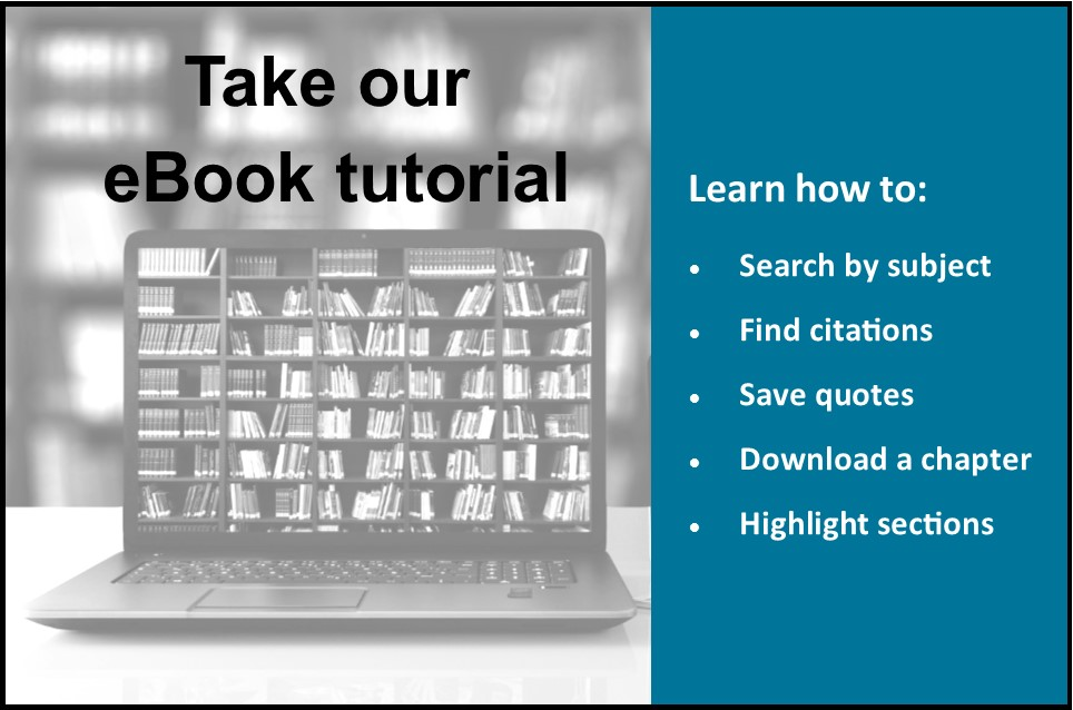 take the ebook tutorial