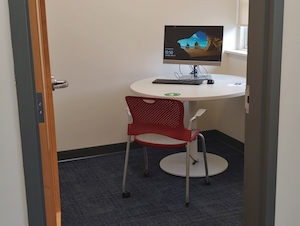 Interview & Digital Research Room