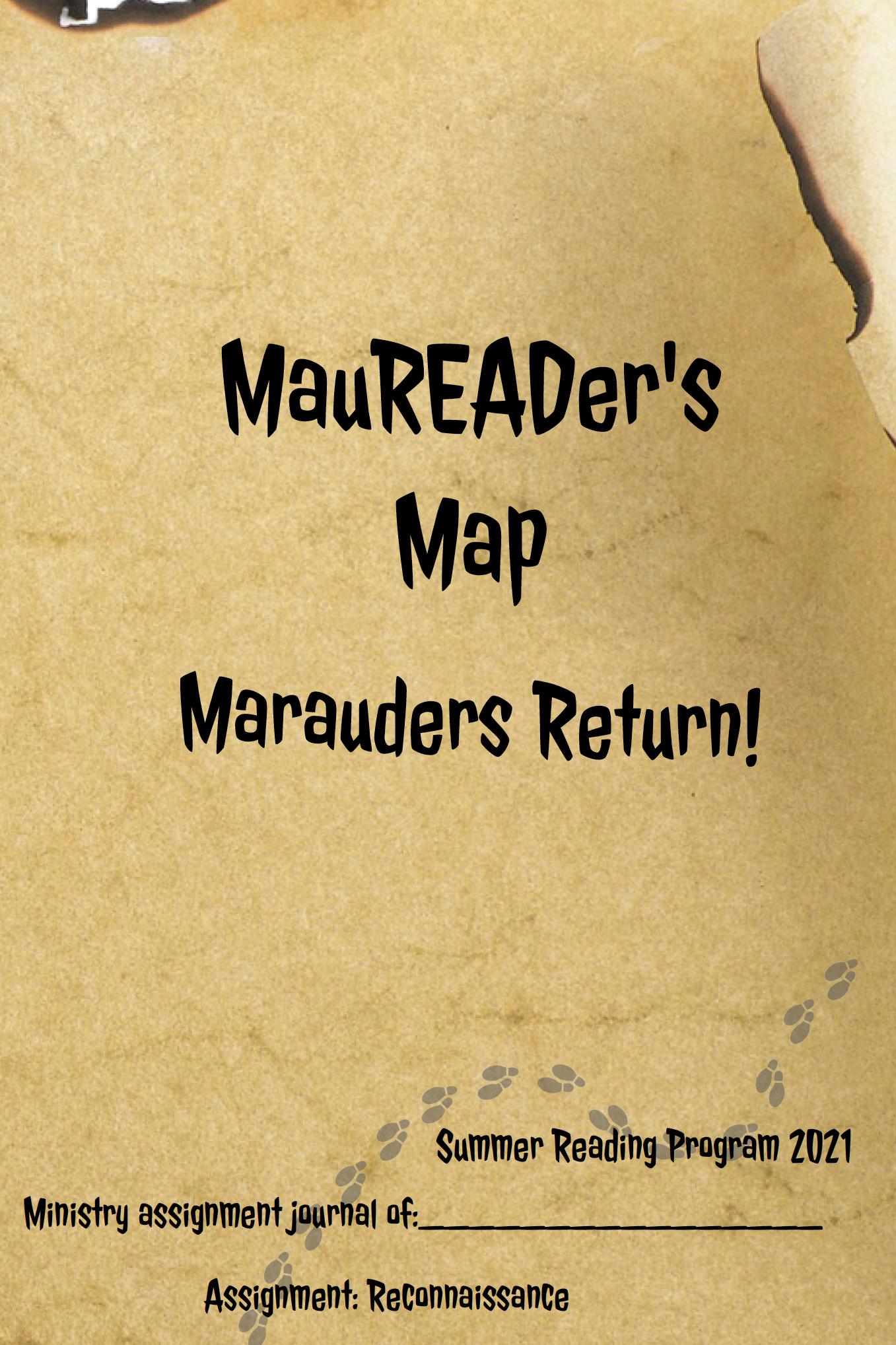 Maureader's Map Mission Booklets