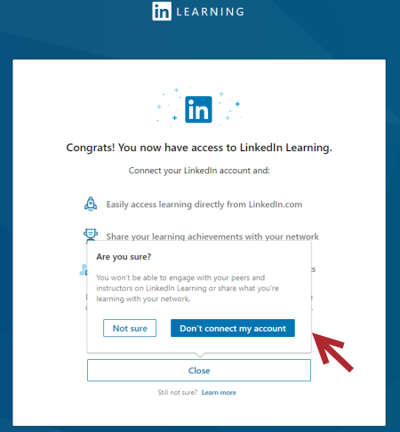 connect my linkedin account
