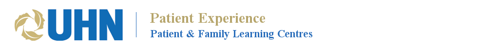 UHN Patient & Family Learning Centres Logo